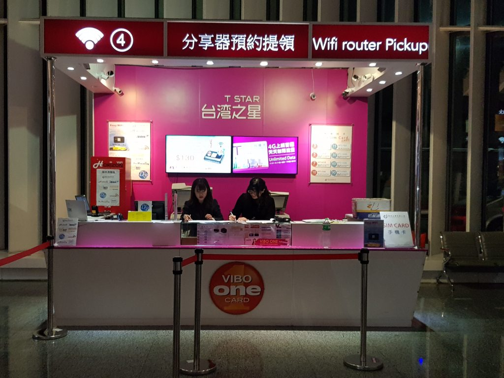 how to buy a sim card in Taiwan